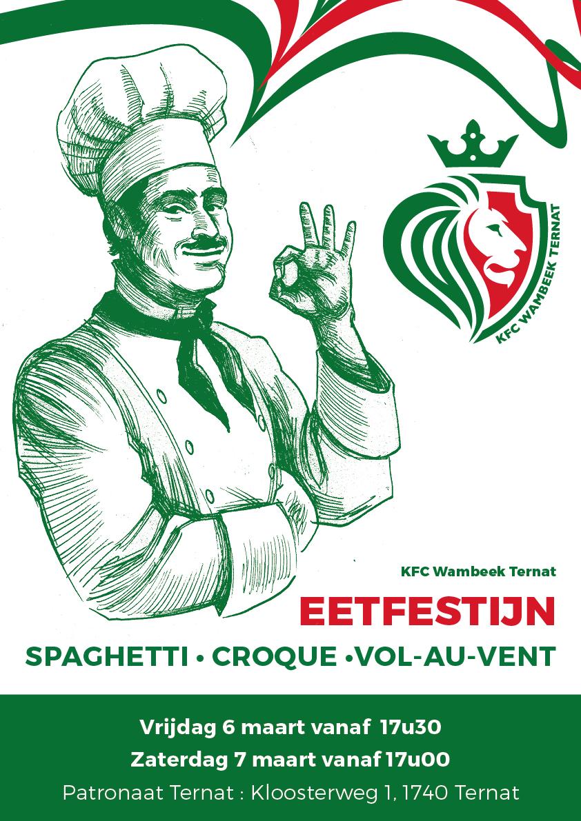 Affiche Eetfestijn 2020